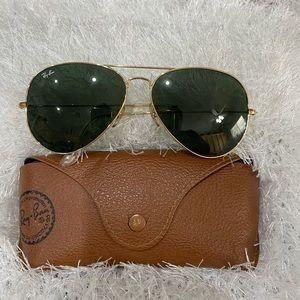 Vintage Ray Ban L2846 meta Aviator sunglasses